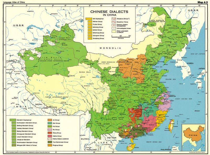 The Useless Tree Language Map Of China