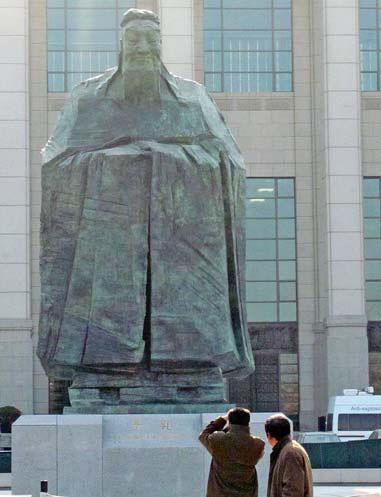 New confuciusstatue