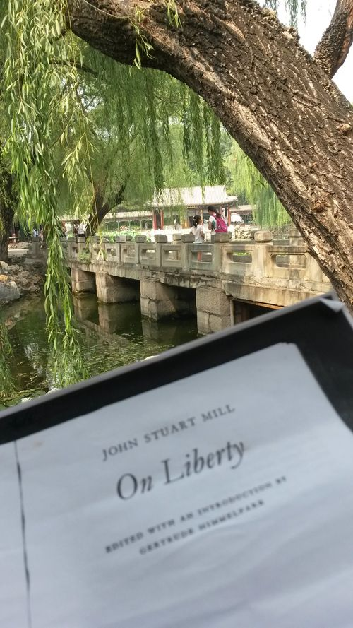 Reading on liberty in beijing